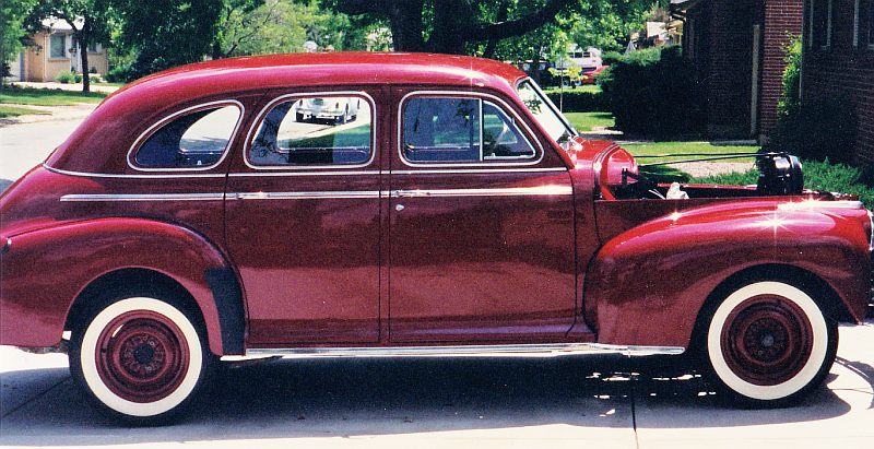 1941 chevrolet restoration for 1941 chevy 4 door sedan